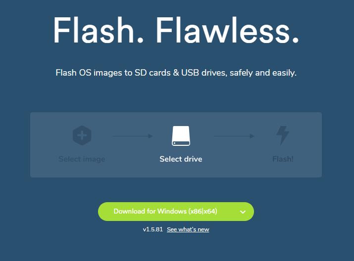 Install Raspbian on SD card with Windows/Mac/Linux