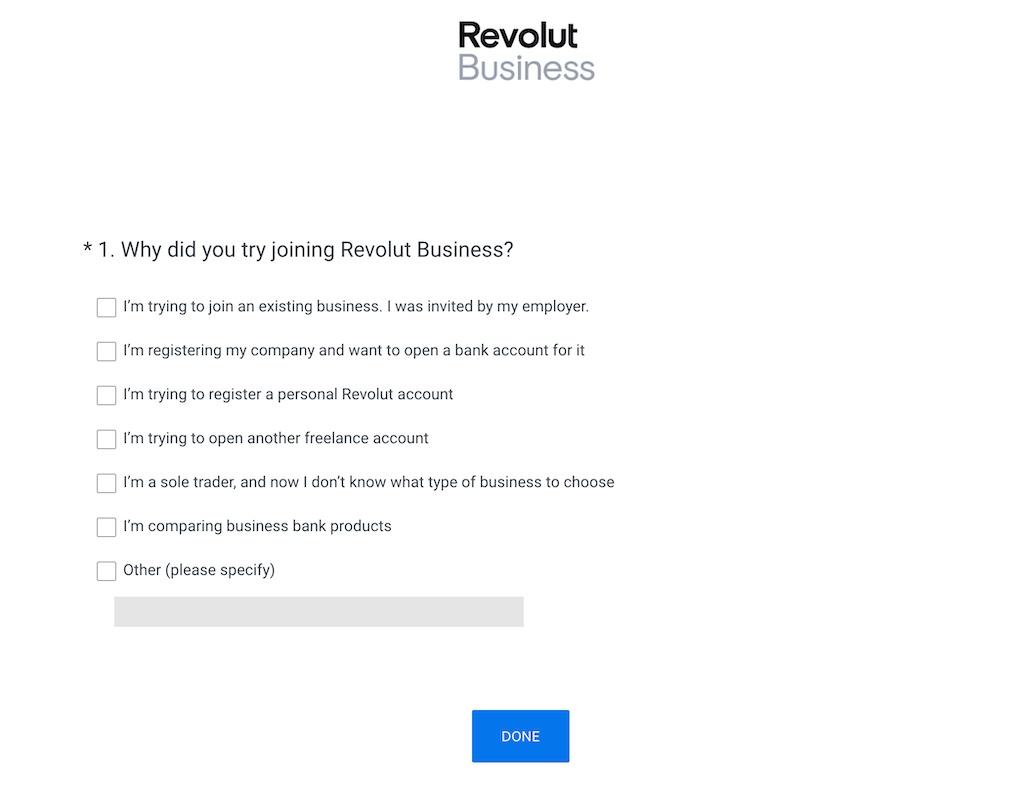 Revolut Business Survey